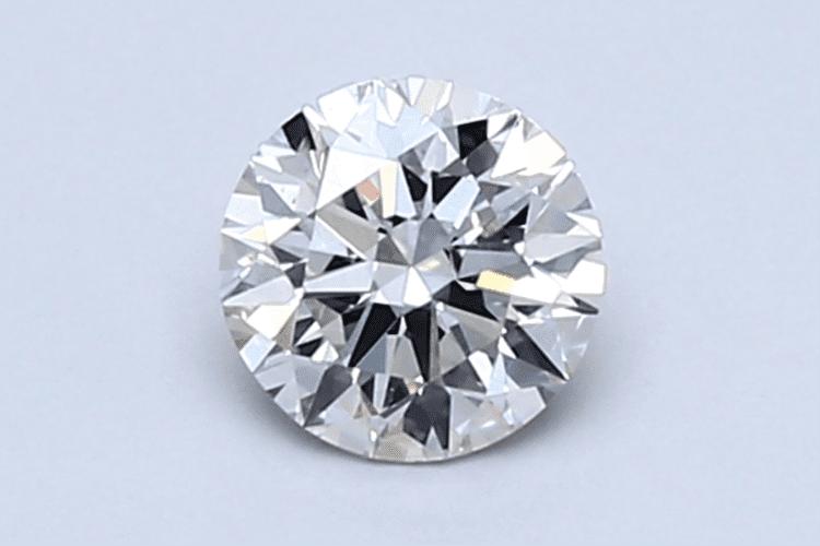 0.50ct round cut diamond. (Photo courtesy of Blue Nile)