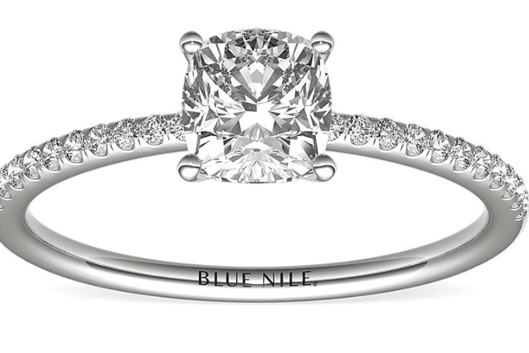 0.99 carat Blue Nile engagement ring ideas