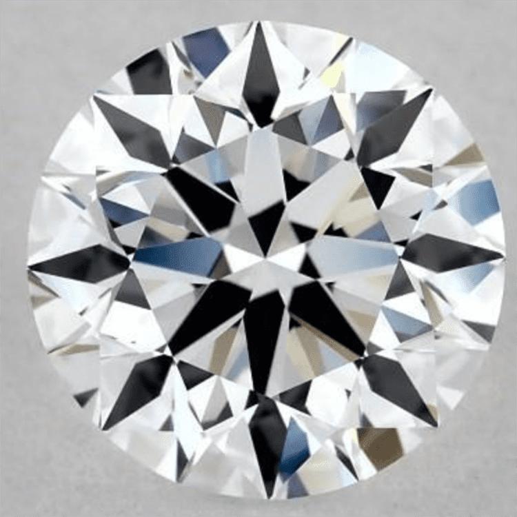1.00 Carat D-IF Excellent Cut Round Diamond. James Allen. engagement ring ideas