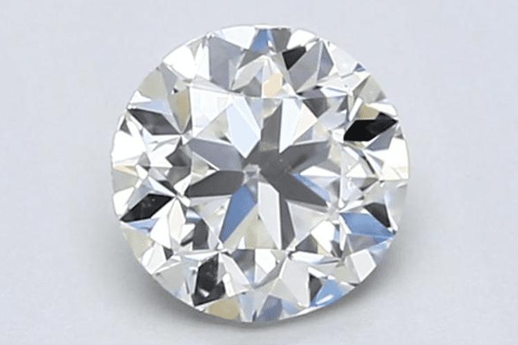 1.00-Carat Round Cut Diamond. Blue Nile. engagement ring ideas