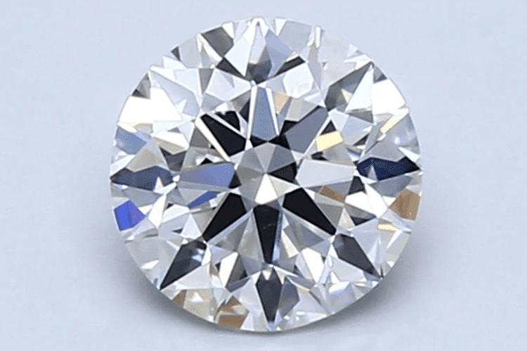 1.00ct round cut diamond (Photo courtesy of Blue Nile)