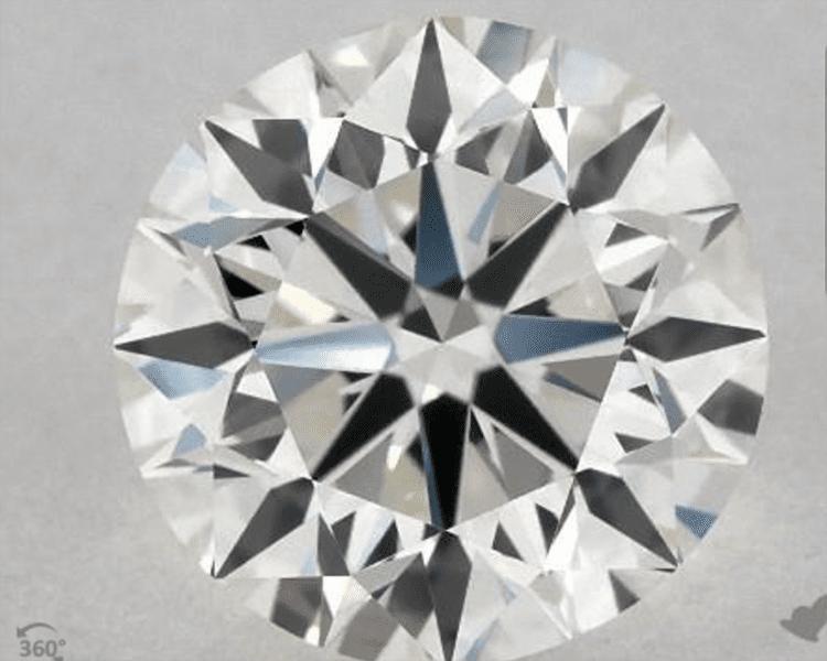 1.01 Carat H-IF Excellent Cut Round Diamond. $5,330. Photo courtesy of James Allen.