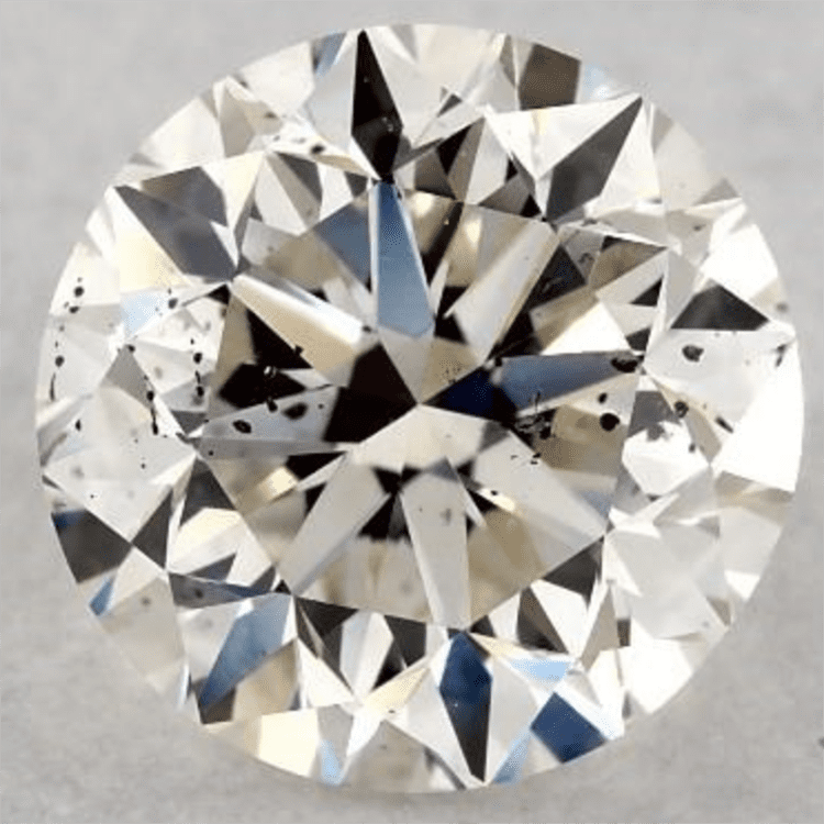 1.01 Carat K-SI2 Good Cut Round Diamond. James Allen. Engagement ring ideas