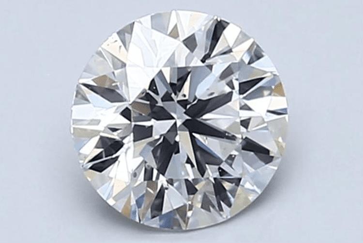 1.01-Carat Round Cut Diamond. Blue Nile. engagement ring ideas