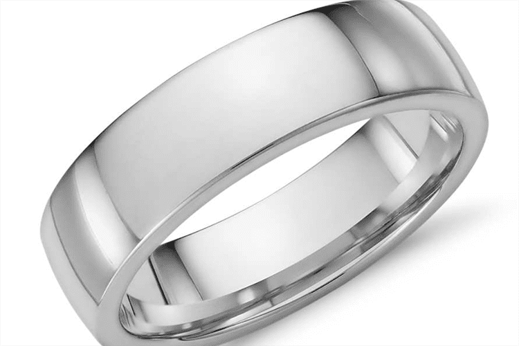 14K White Gold ring courtesy of Blue Nile