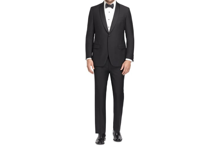 Brooks Brothers One-Button Fitzgerald Tuxedo