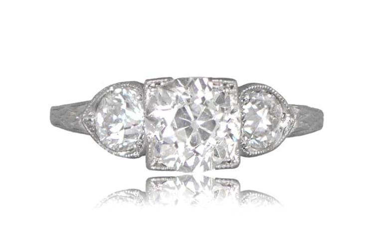 Bernex Ring, circa 1925. (Photo by Estate Diamond Jewelry).