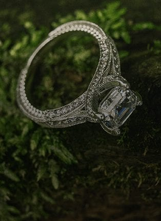 10 Best Engagement Rings With Accent Stones