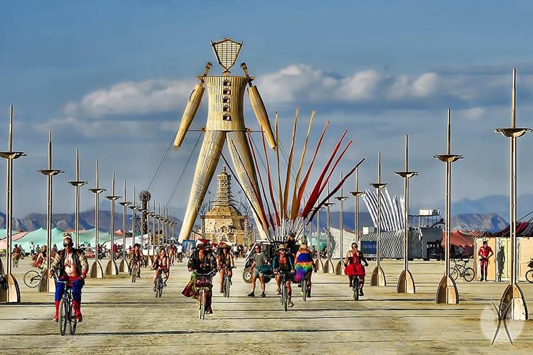Burning Man festival bachelor party ideas
