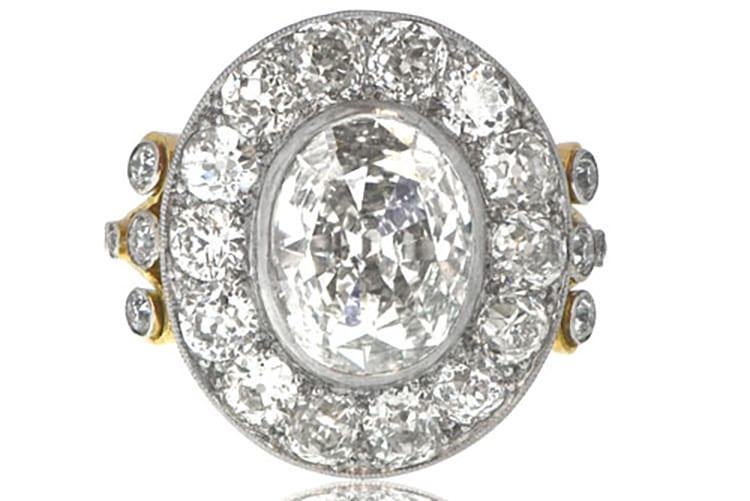 Estate Diamond Jewelry Tiverton Ring engagement ring ideas diamond