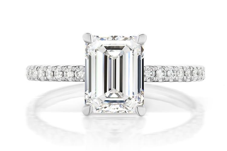 Greenwich St Jewelers Baxter diamond engagement ring ideas