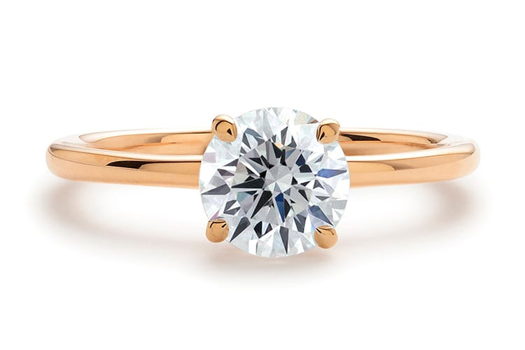Greenwich St Jewelers Hudson Solitaire engagement ring ideas diamond