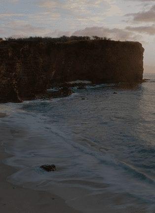 Hulopoe Beach In Lanai