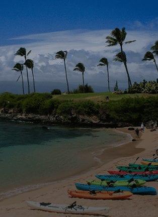 Kapalua Bay In Maui