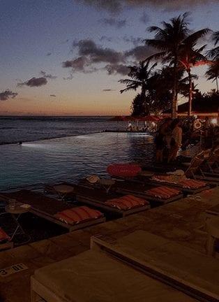 Go For A Dip At Edge Of Waikiki
