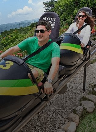 Bobsled At Mystic Mountain