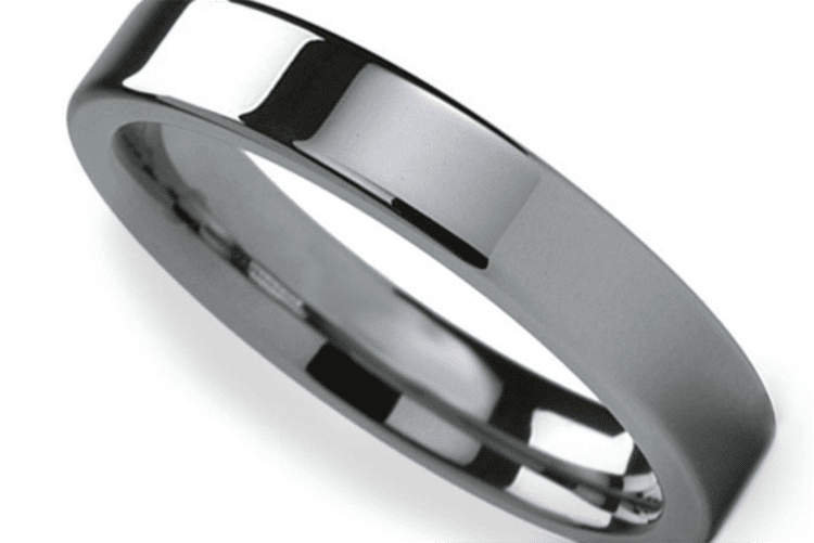 Photo of a tungsten ring courtesy of Brilliance