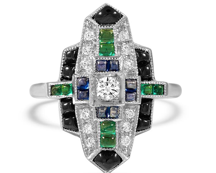 Photo of The Costanza Ring courtesy of Brilliant Earth
