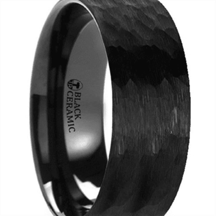 Photo of black ceramic ring courtesy of Larson Jewelers