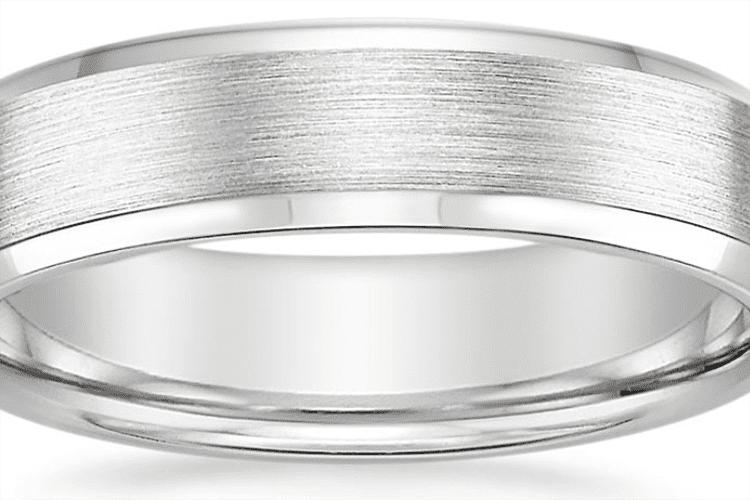 Platinum ring courtesy of Brilliant Earth