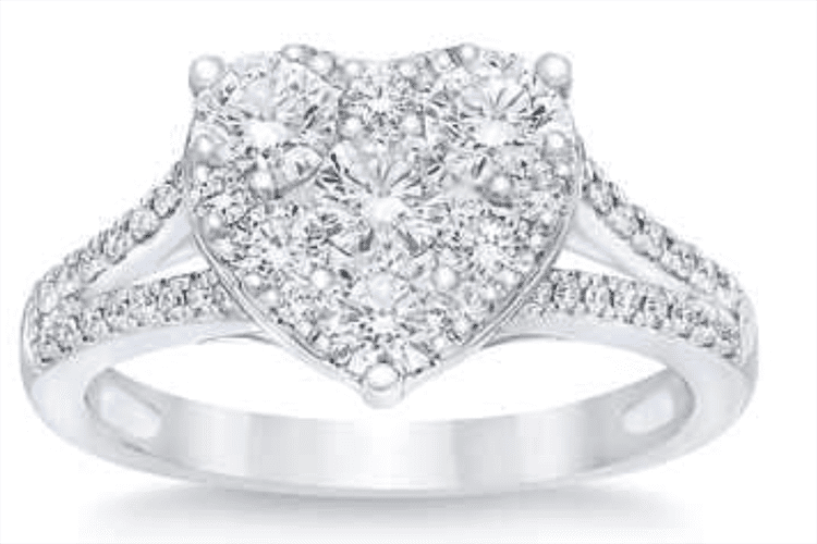 Round brilliant 1.20 ct engagement ring Costco engagement ring ideas