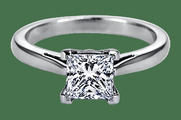Sasha Primak princess cut diamond engagement ring ideas