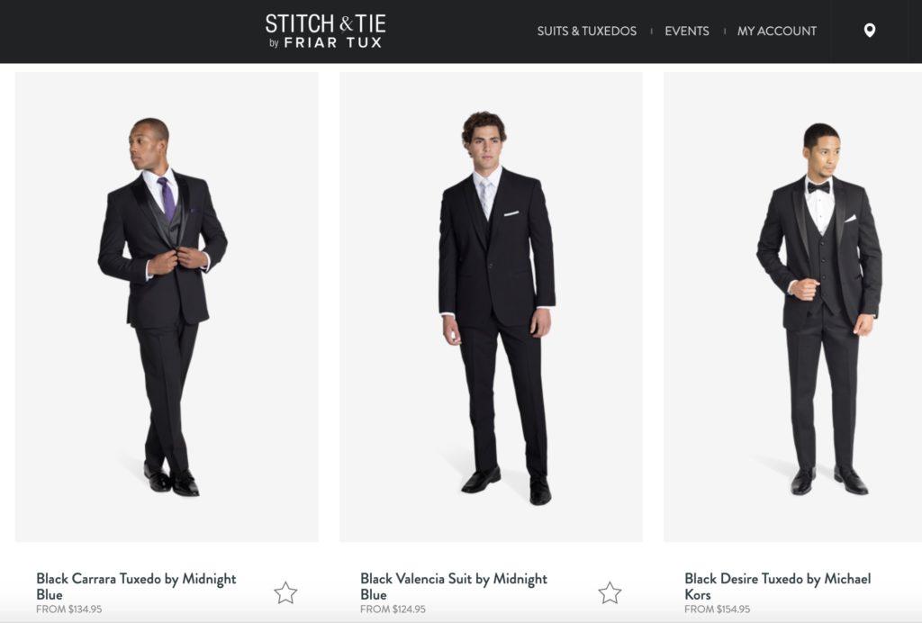 Stitch & Tie Tuxes