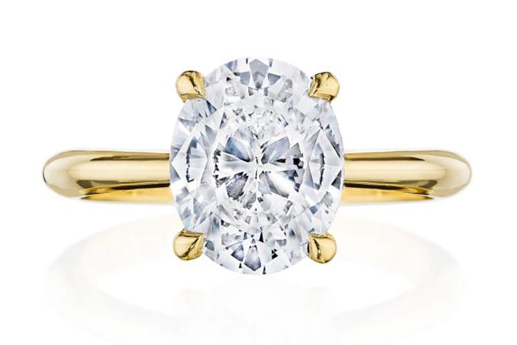 Tacori RoyalT four prong diamond engagement ring ideas