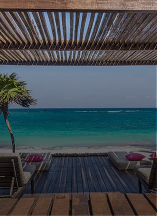 Relax And Enjoy The View From Beach near Mezzanine Tulum