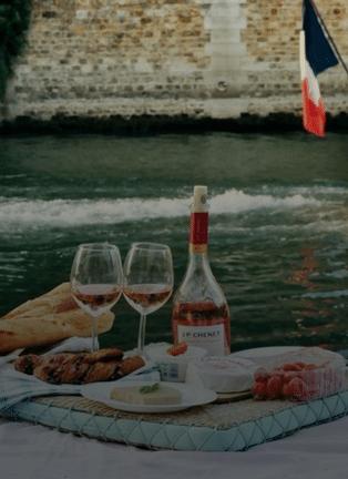 Drink Wine On The Seine