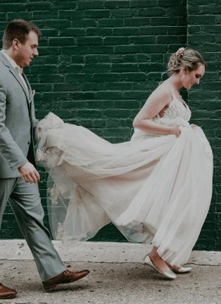 WEDDING DRESS HACKS
