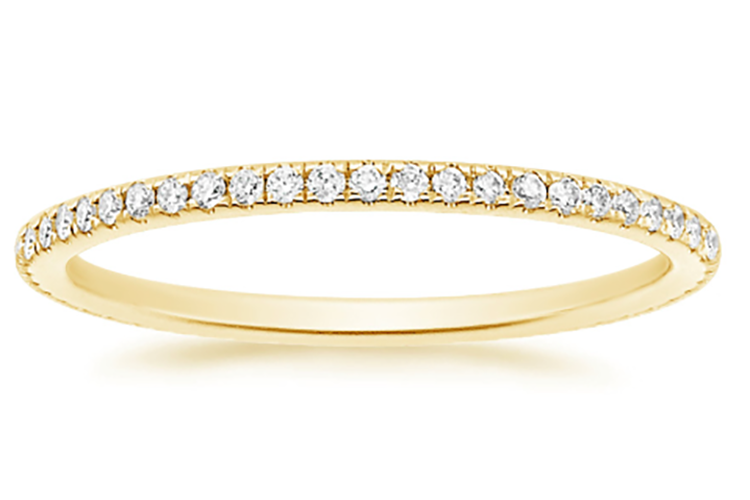 Brilliant Earth Pavé-set eternity band 1/4 carat