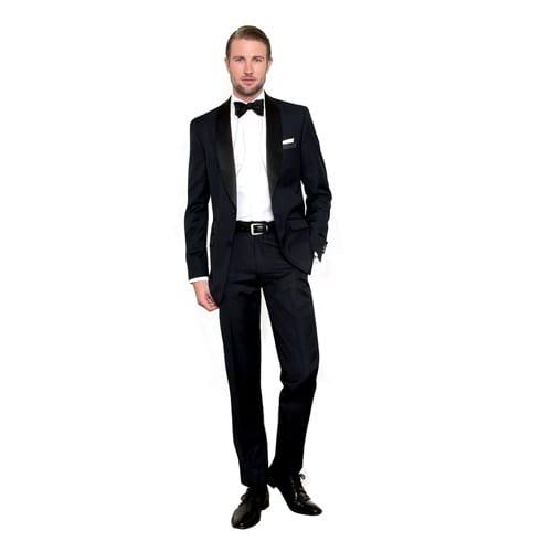 b47b9823304 Midnight Blue Shawl Collar Tuxedo – Jerusalem House