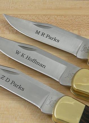 Groomsmen Gifts: Best Knives