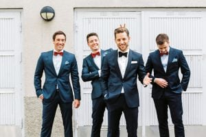 Can Groomsmen Wear Their Own Tuxes?