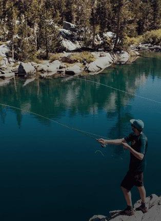 Fishing at Cap-Saint-Jacques Nature Park