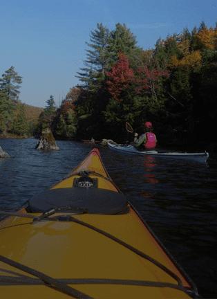 Kayaking at Iles de Boucherville National Park