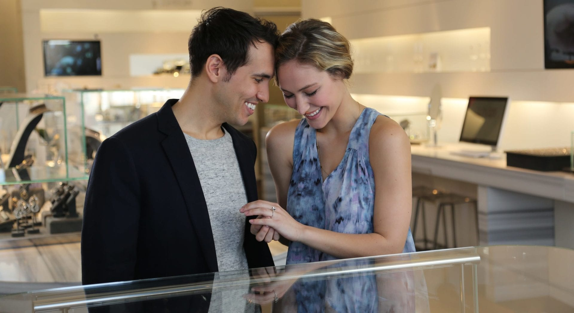 Should You Go Ring Shopping Together The Plunge