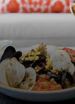 Seafood at Herringbone