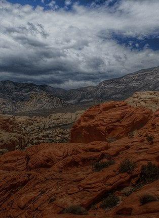 Climb at Red Rock Canyon