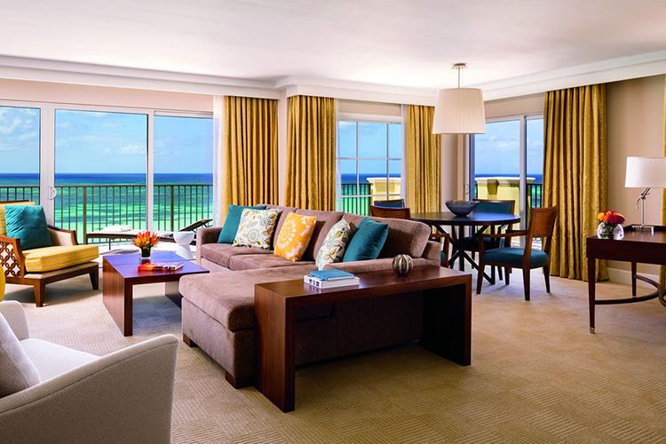 Ritz Carlton Aruba Suite