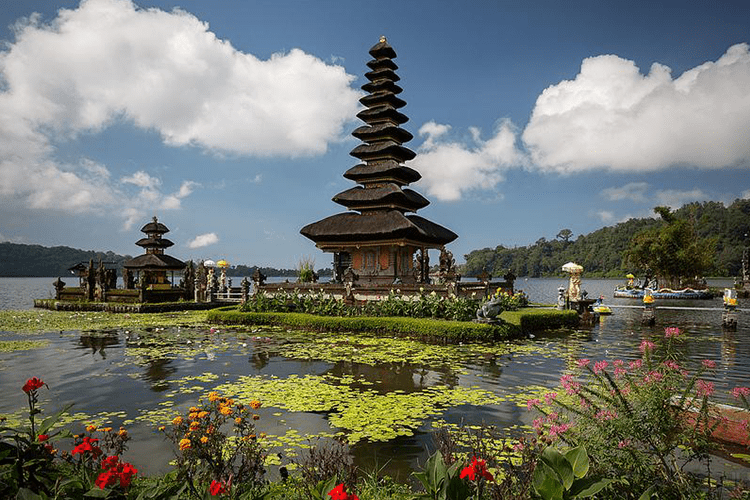 Bali shrines and temples