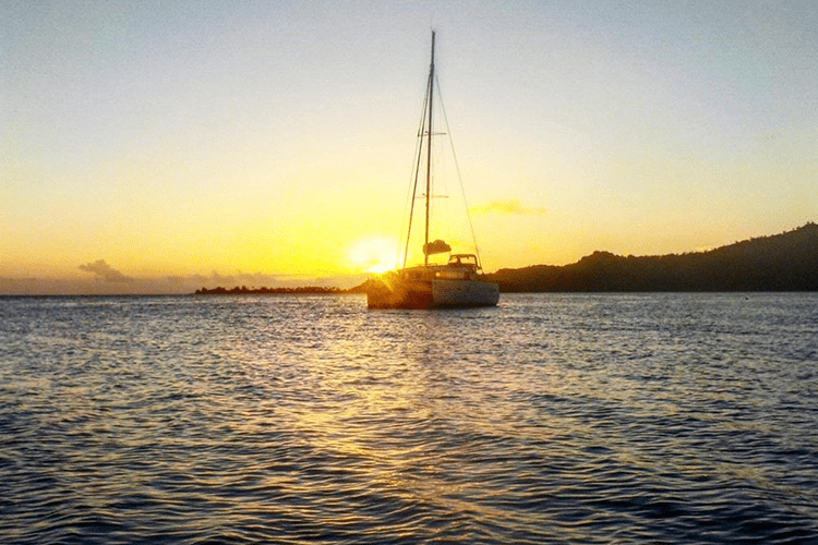 Sunset cruise Bora Bora