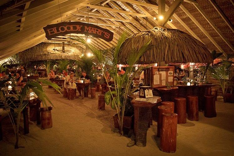Bloody Mary's Bora Bora restaurant