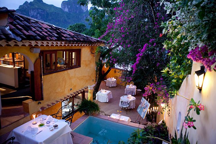 La Villa Mahana Bora Bora restaurant