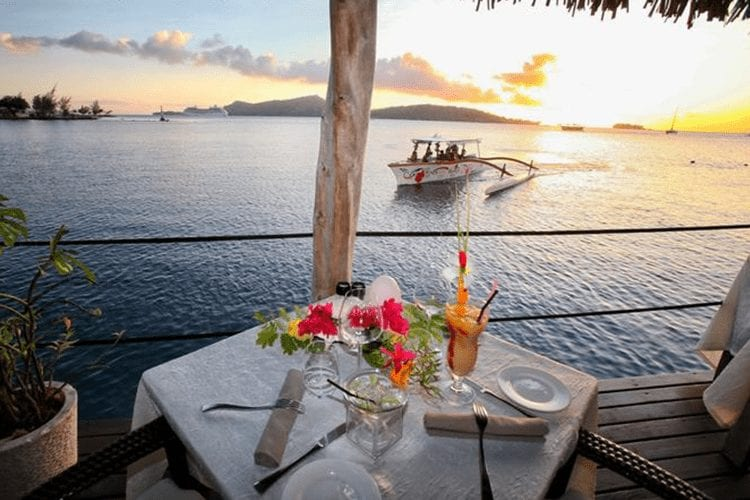 St James Bora Bora restaurant