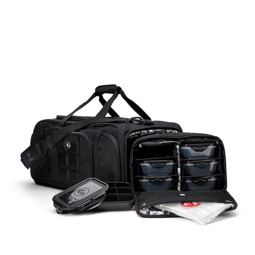 6 Pack Fitness Beast Duffle Stealth Meal Prep Gym Bag  309ed7caa590e