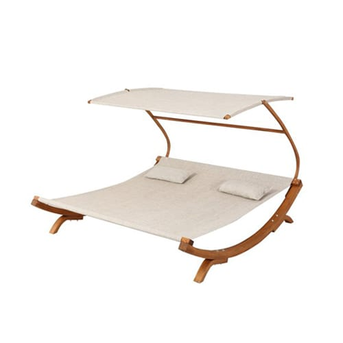 Rhett friendship harbor double chaise lounge the plunge for Chaise lounge band