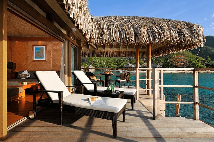 Intercontinental Moorea French Polynesia honeymoon resort