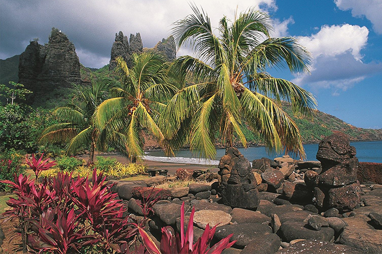 Go to the Marquesa Islands French Polynesia